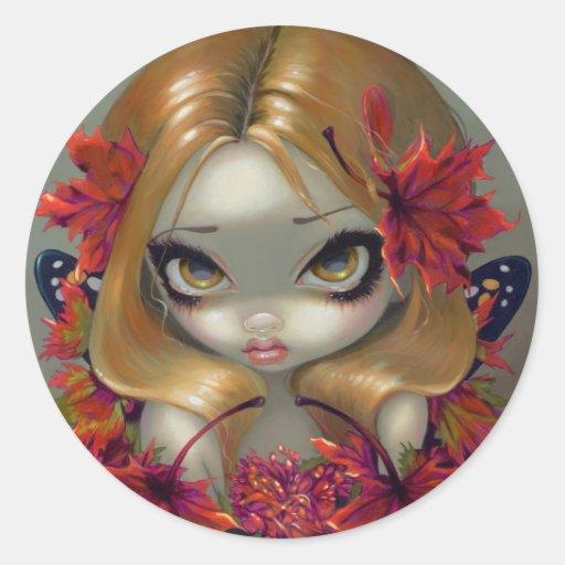 """""""Red Maple Fairy"""" Sticker"""