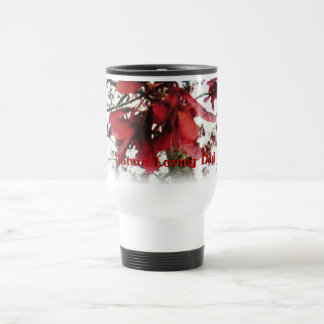Red Maple Keys Botanical Fathers Day Travel Mug