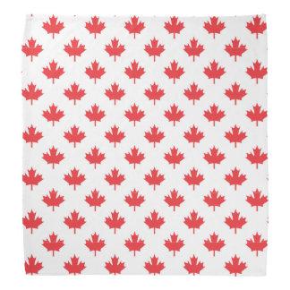 Red Maple Leaf Bandana