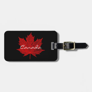 Red Maple Leaf-Canada Luggage Tag