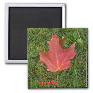 Red Maple Leaf Magnet