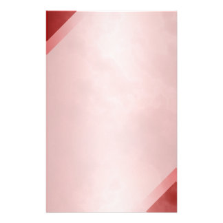 "Red Marble Stationary 5.5"" x 8.5"" Stationery Design"