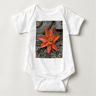 RED MARY BABY BODYSUIT