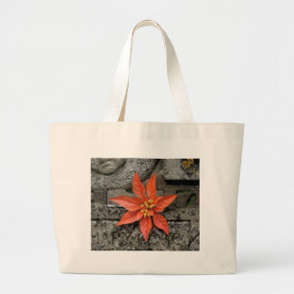 RED MARY LARGE TOTE BAG