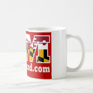 Red Maryland 2018 Logo Mug