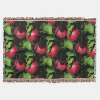 Red McIntosh Apples Nature Art Pattern