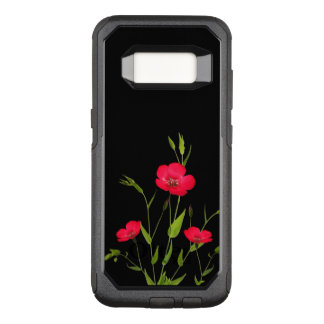 red meadow flowers OtterBox commuter samsung galaxy s8 case