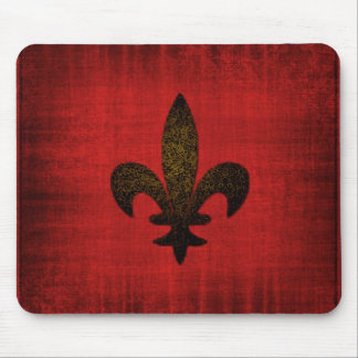 Red Medieval Mouse Pad