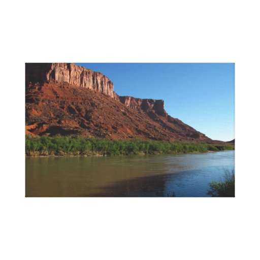 Red Mesa of Moab Stretched Canvas Print