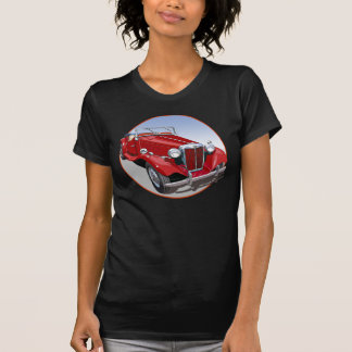 Red MG TD Tee Shirt