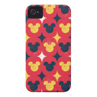 Red Mickey iPhone 4 Cover