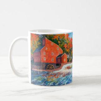 Red Mill Clinton NJ Painterly Mug