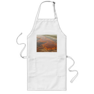 Red Mineral Water Yellowstone Park Apron