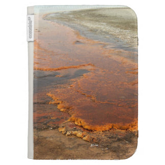 Red Mineral Water Yellowstone Park Kindle Covers