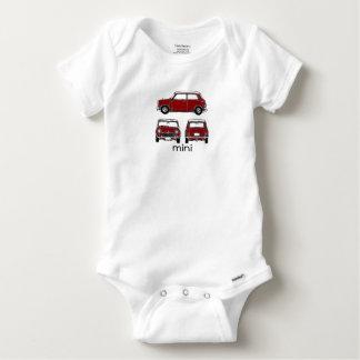 Red Mini Baby Onesie