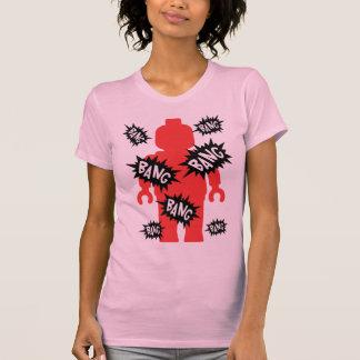 Red Minifig BANG BANG BANG T-shirt
