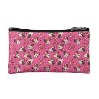 Red Minnie   Pink Pattern Makeup Bag
