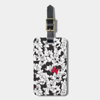 Red Minnie | Red Bow Pattern Luggage Tag