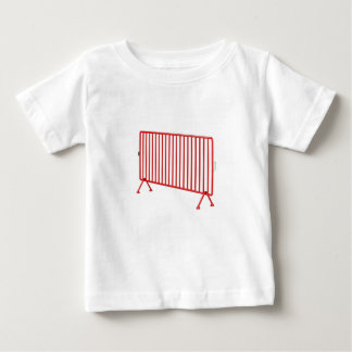 Red mobile fence baby T-Shirt