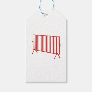 Red mobile fence gift tags