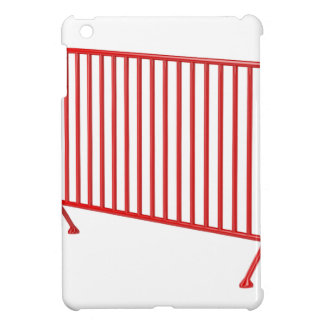 Red mobile fence iPad mini cases