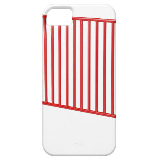 Red mobile fence iPhone 5 cover