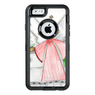 Red Mod Angel OtterBox Defender iPhone Case