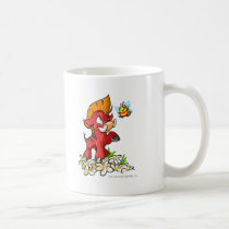 Red Moehog and Buzz mugs