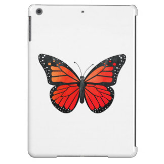 Red Monarch Butterfly iPad Air Cases