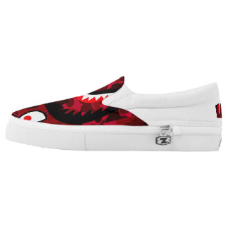 RED MONSTER SHOES