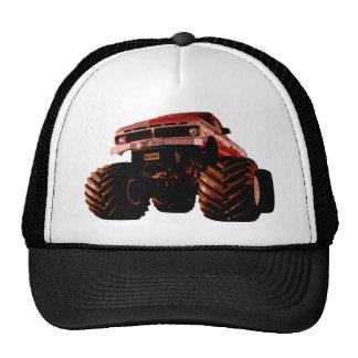 Red Monster Truck Cap