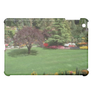 Red More gardens flowers iPad Mini Cover