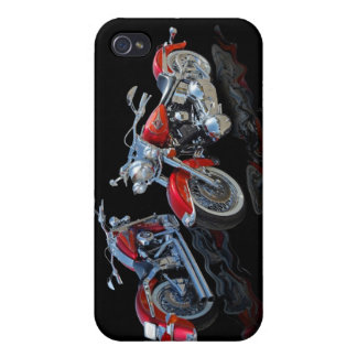 Red Motorcycle Cases For iPhone 4