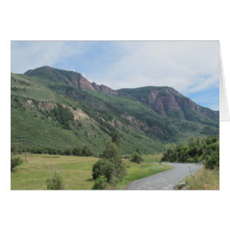 Red Mountains Card