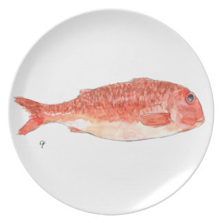 Red mullet plates
