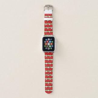 Red Mushroom Apple Watch Band