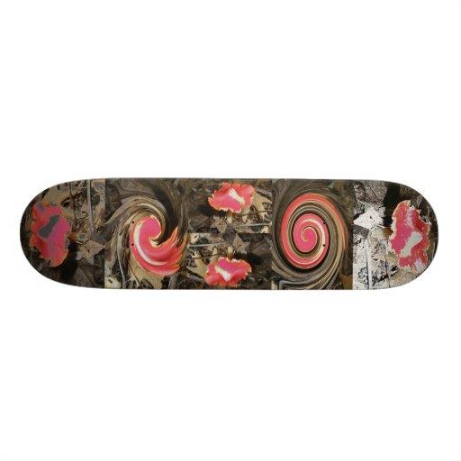 Red Mushroom Skateboard