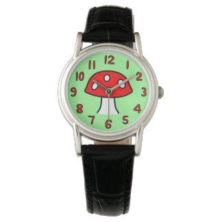 Red Mushroom Watch (Adult)