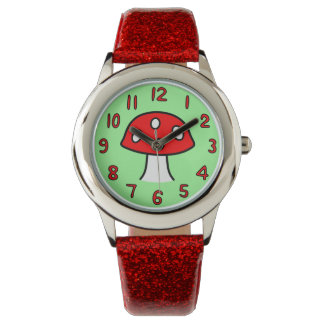 Red Mushroom Watch (Child)