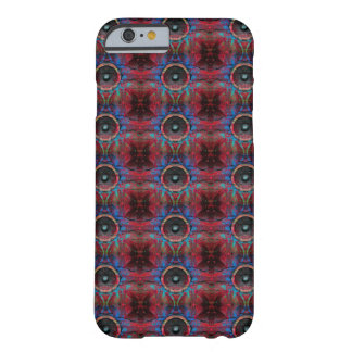 Red music speakers on a cracked wall pattern barely there iPhone 6 case