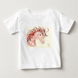 Red Mustang Baby T-Shirt