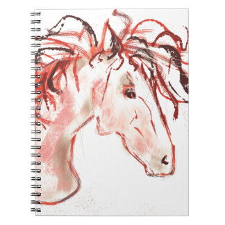 Red Mustang Notebook