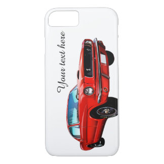 Red Mustang Personalized iPhone 7 Case