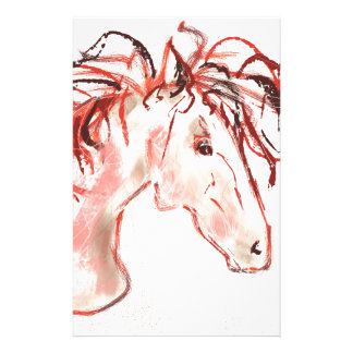 Red Mustang Stationery