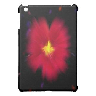 Red Nasturtium Nebula iPad Case
