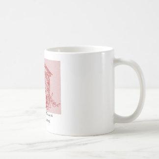 Red Nativity Stamp Mug