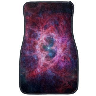 Red Nebula Car Mat