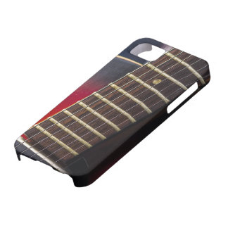 Red Neck HollowBody Guitar Pick-up iPhone 5 Case