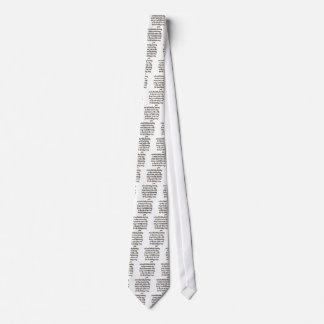 Red neck tie