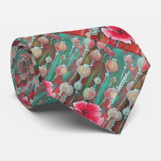 red neck tie ''Poppy''